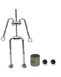Animation Supplies Bundle Deal - AliExtra Armature Kit, Standard Tie-Down Magnets and Grey Acrylic Eyes