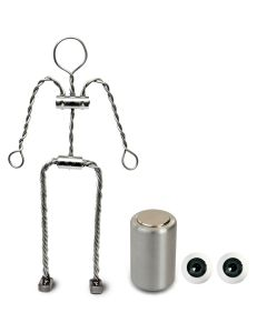 Animation Supplies Bundle Deal - Aluminium Armature Kit, Professional Tie-Down Magnet and Grey Acrylic Eyes