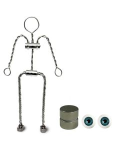 Animation Supplies Bundle Deal - Aluminium Armature Kit, Standard  Magnets and Blue Eyes