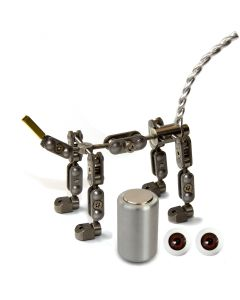 Animation Supplies Bundle Deal - ProPlus Quadruped Armature Kit, Professional Tie-Down Magnet and Brown Acrylic Eyes