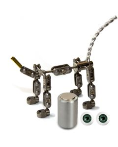 Animation Supplies Bundle Deal - ProPlus Quadruped Armature Kit, Professional Tie-Down Magnet and Green Acrylic Eyes